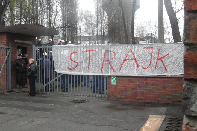 Strajk okupacyjny - Huta Battory