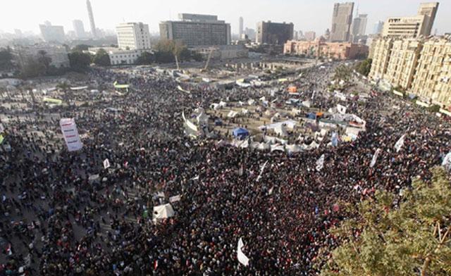 PlacTahrir, 25 stycznia-2013.