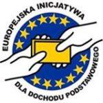 logo europejskiej inicjatywy.bezwarunkowego dochodu podstawowego