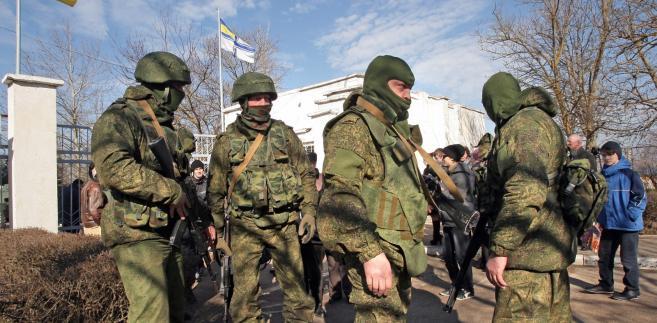 Rosyjscy żołnierze na Krymie? Chyba tak.