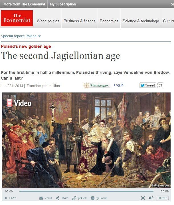 Okładka The Economist