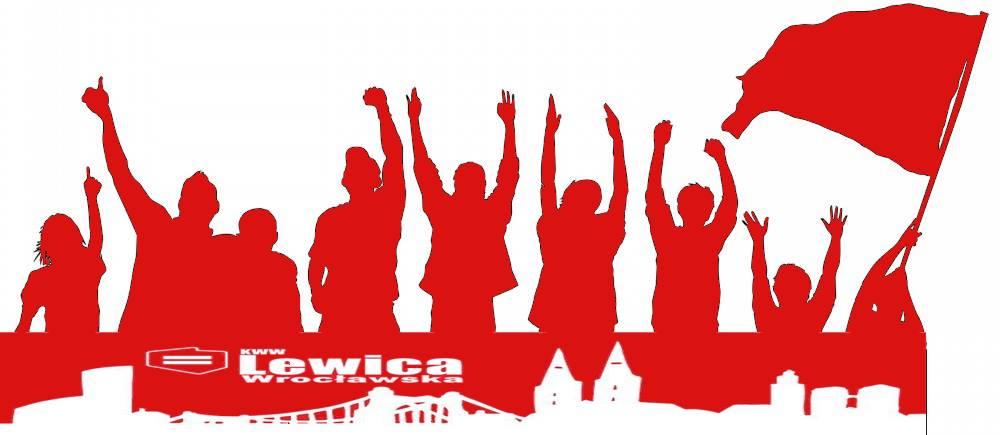 Logo.Lewica wroclawska