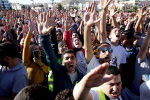 Protest w Maroku