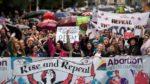 24.09.16 Dublin. Demonstracja żądająca referendum ws. aborcji.