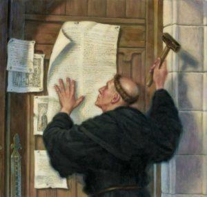 Luter i jego tezy