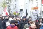 11.11.17 Antyfaszystowska demonstracja w Warszawie.