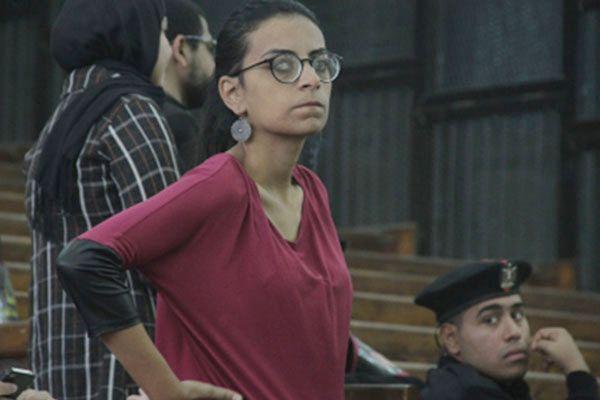 Mahienour el-Massry w sądzie