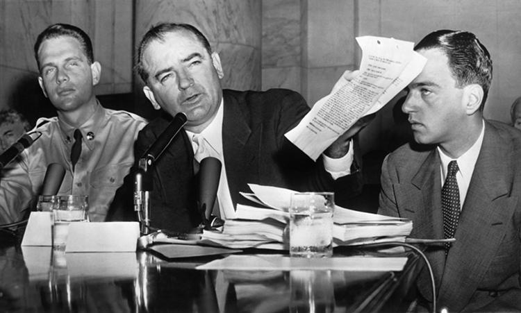 "Ojciec ""makkartyzmu"" – senator Joseph McCarthy"