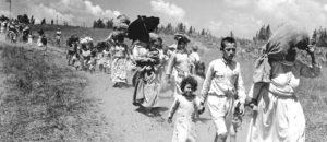 Rok 1948 – wypędzeni Palestyńczycy.