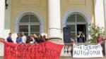 Strajk okupacyjny na Uniwersytecie Warszawskim.