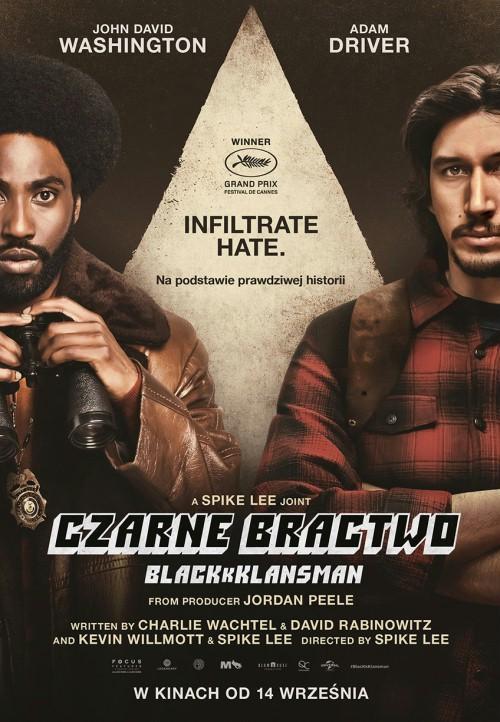 plakat filmu black klansman
