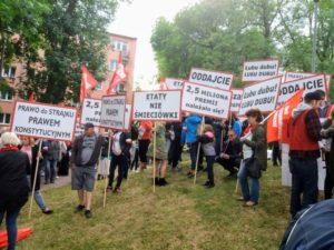 30.06.18 Warszawa. Protest pracowników PLL LOT.