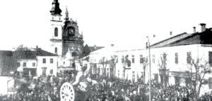 Bunt w Tarnobrzegu w 1918 r.