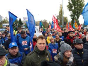 27.10.2018 Dziesiąty dzień strajku.