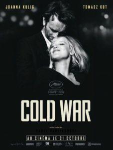 plakat filmu: zimna wojna