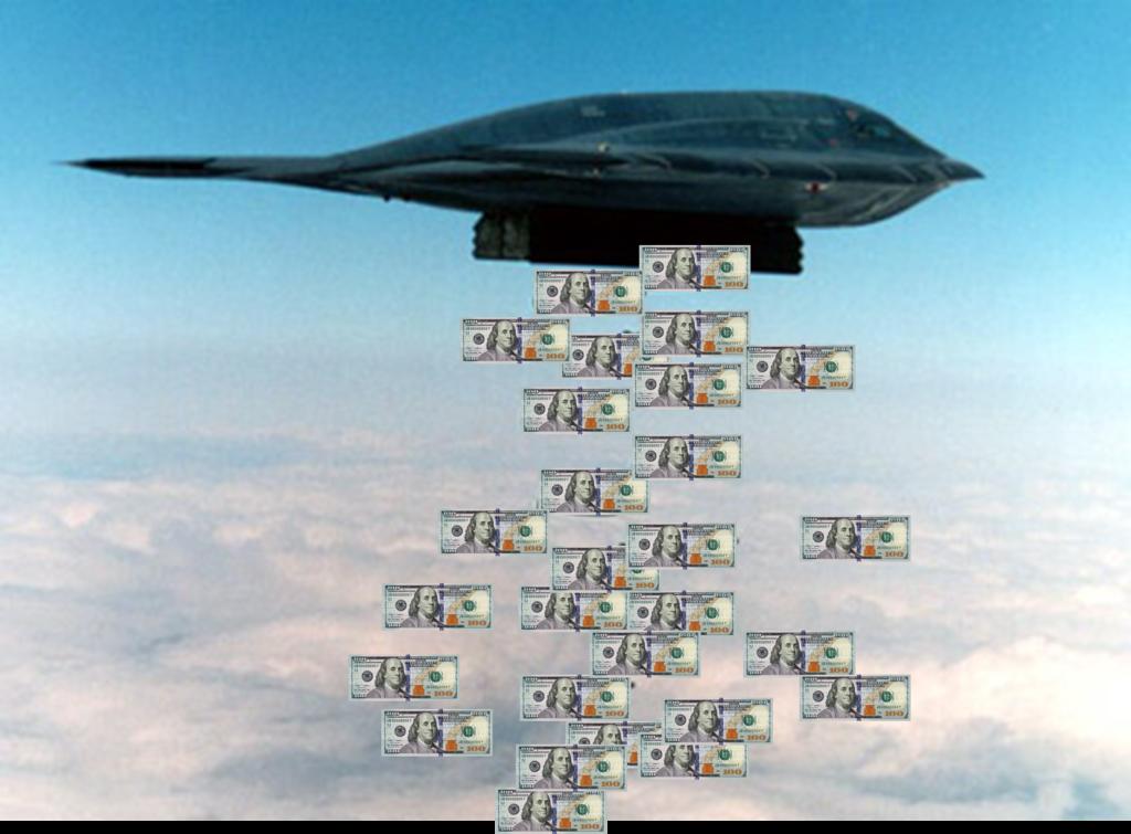 Każdy amerykański bombowiec B-2 kosztuje ok. 2,4 mld dolarów.