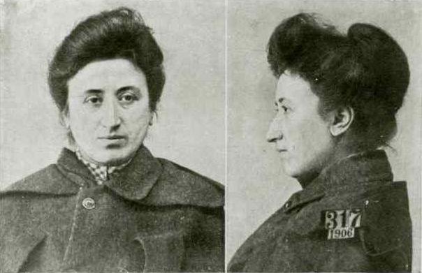 Zdjęcie z 1906 r. Róża Luksemburg była więźniarką X Pawilonu Cytadeli Warszawskiej.