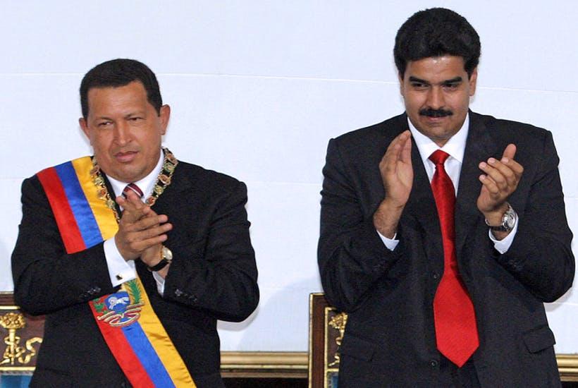 Hugo Chavez i Nicolas Maduro w 2006 r.