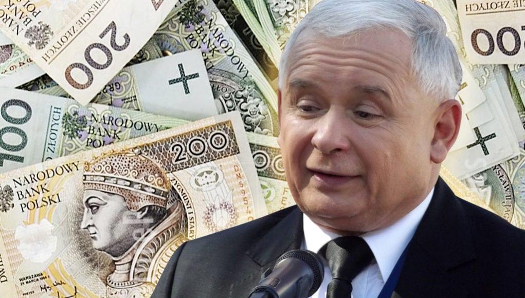 Kaczyński i banknoty