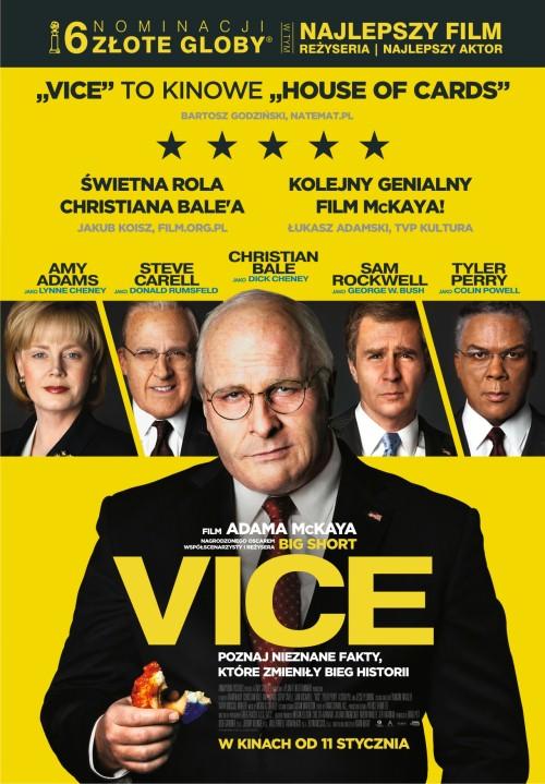 "Plakat filmy ""Vice"""