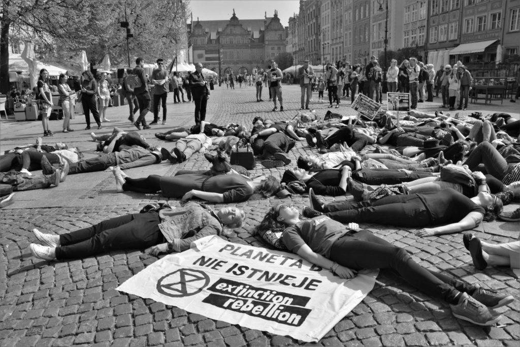 27.04.19 Gdańsk. Protest XR Polska.