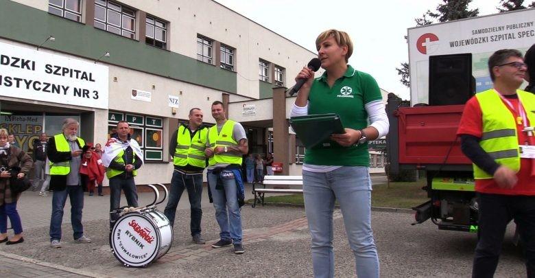 Szpital Rybnik - protest związkowy