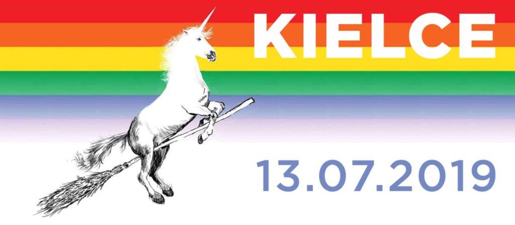 I Marsz Równości w Kielcach.