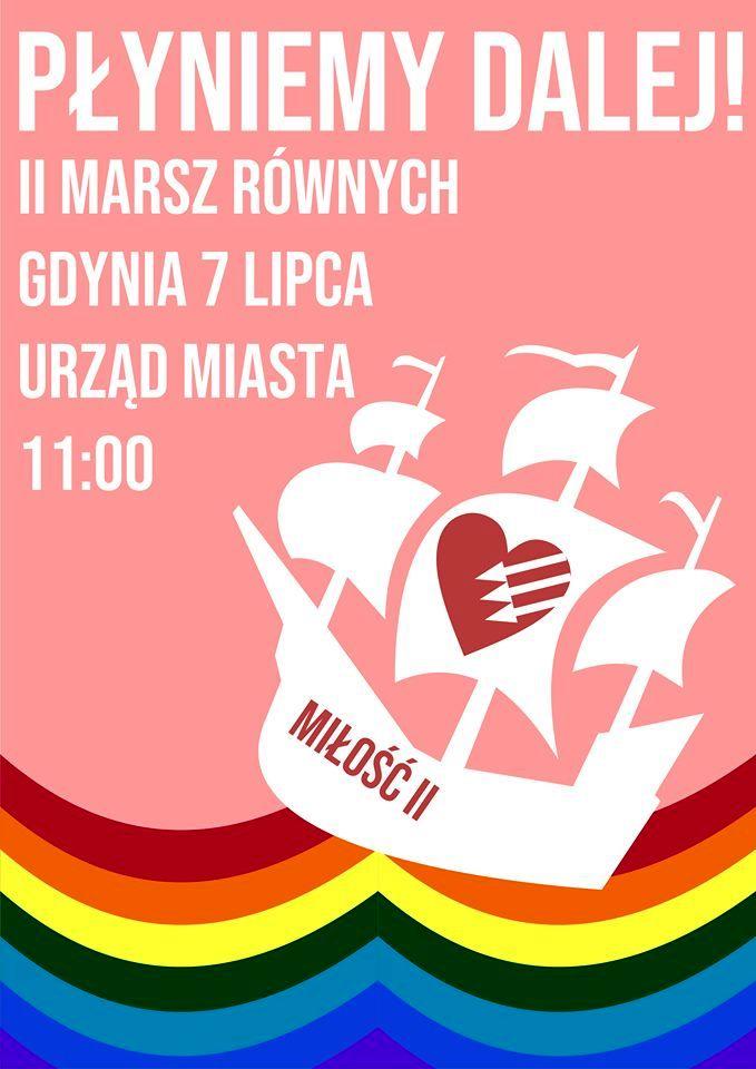 II Marsz Równych w Gdyni.