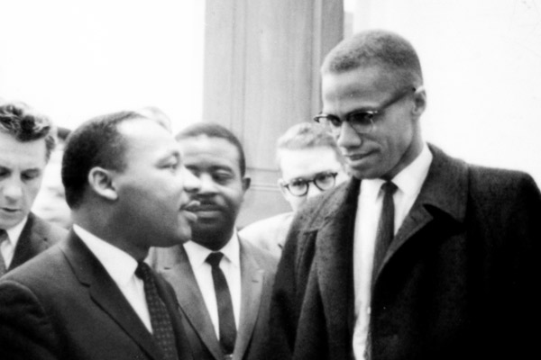 26.03.1964 Martin Luther King i Malcolm X.