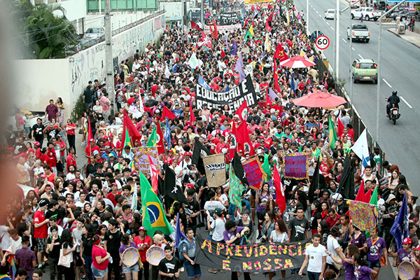 14.06.2019 Strajk generalny w Brazylii.