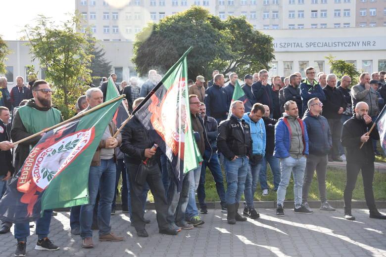20.09.2019 Protest pod siedzibą JSW