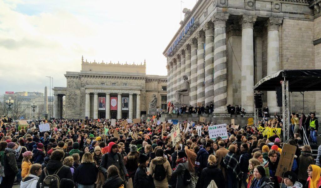 29.11.2019 Demonstracja klimatyczna w Warszawie.