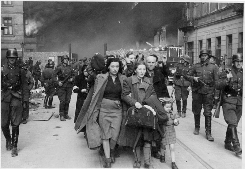 Maj 1943 r. Powstanie w getcie warszawskim.