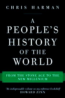 "Okładka książki ""A People's History of the World""."