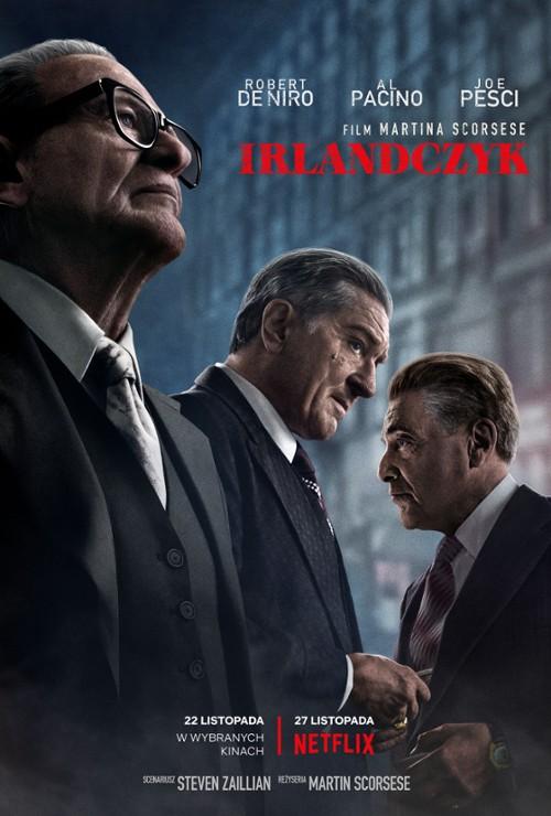 """Plakat dla filmu """"Irlandczyk"""""""