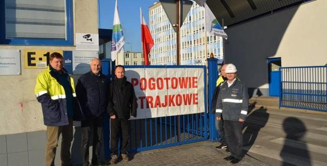 Zakłady Azotowe Puławy - pogotowie strajkowe.