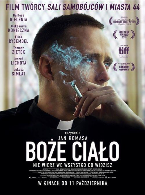 """Plakat filmu """"Boże Ciało"""""""