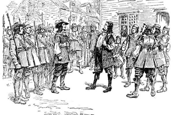 Bunt Bacona w 1676 r.