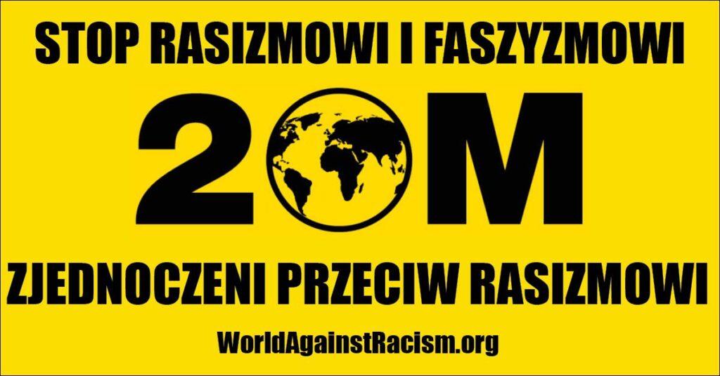 Baner: STOP RASIZMOWI I FASZYZMOWI