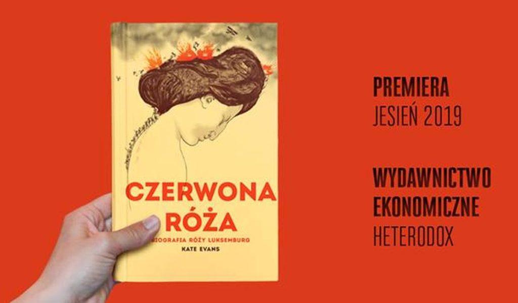 """Okładka książki """"Czerwona Róża""""."""