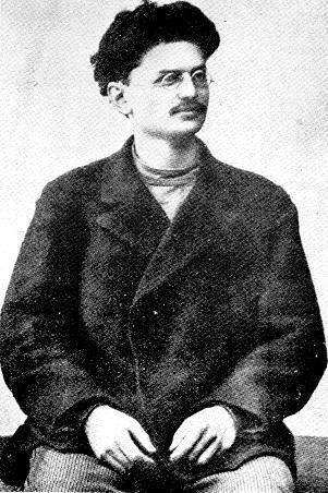 1900 r. 20-letni Trocki na zesłaniu na Syberii.