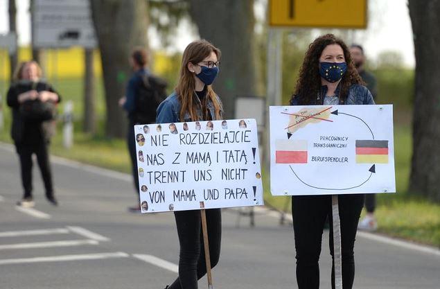 24.04.20 Zeszłoroczny protest w Rosówku, w Zachodniopomorskiem.