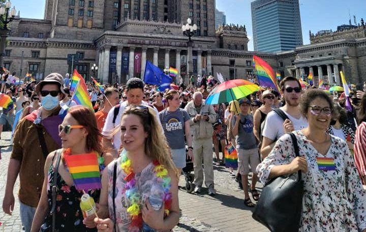 19.06.21. Parada Równości. Walka przeciw homofobii trwa.