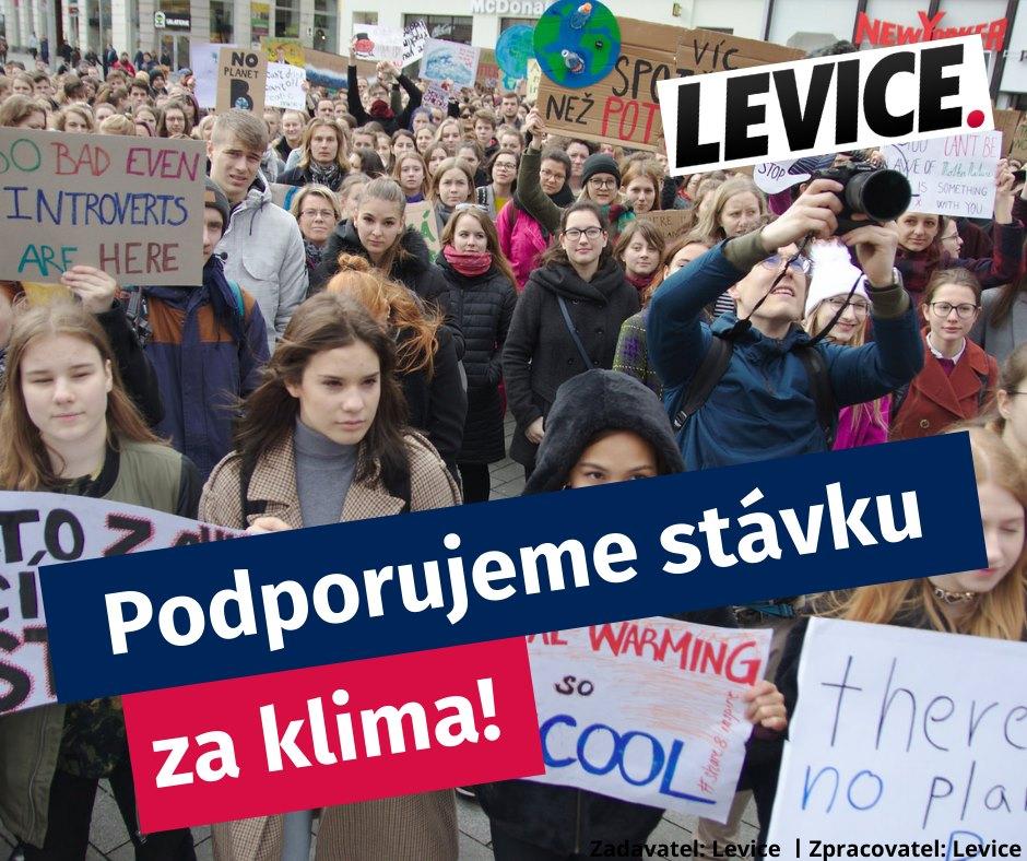 Lewica. Popieramy strajk klimatyczny!