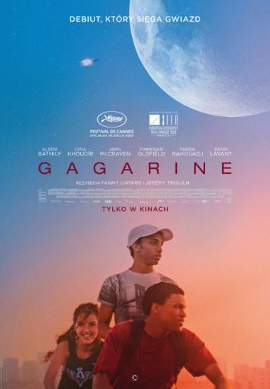 "Plakat filmu ""Gagarine""."