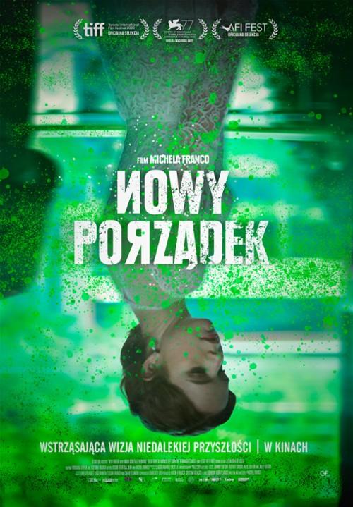 """Plakat z filmu """"Nowy porządek"""""""
